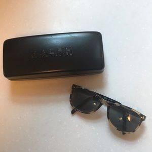 Ralph Lauren Tortoiseshell Sunglass Frames Black